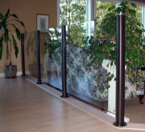 Interior Glass Partition / Decorative Balustrade Design pictures & photos