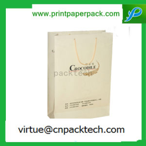 Exquisite Custom Printed Light Color Jewelry Packaging Paper Gift Bag pictures & photos