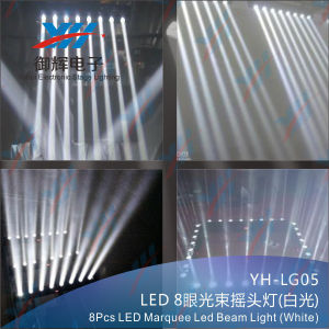 8PCS LED Marquee Beam Light (white) pictures & photos