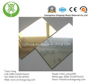 Aluminium Reflector Sheet Gold Color pictures & photos