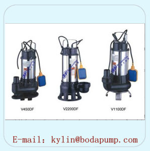 V Series Stainless Steel Submersible Sewage Pump pictures & photos