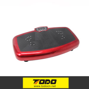 Red Body Shaper Vibration Plate for Losing Weight pictures & photos