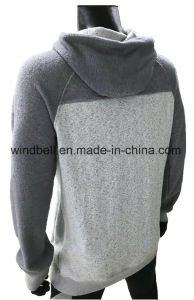 New Style Leisure Fleece Hoody for Men with Yarn Dye pictures & photos