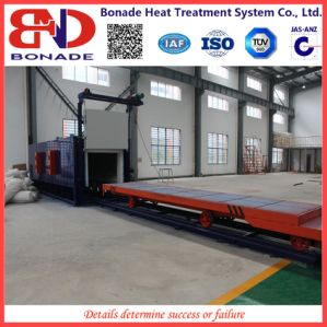 500kw Air Circulation Bogie Hearth Furnaces for Heat Treatment pictures & photos
