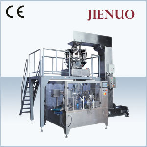 Automatic Dog Food Spices Sugar Beans Granule Seeds Salt Pouch Packing Machine pictures & photos