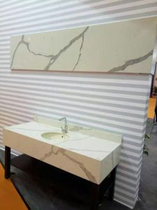 2cm and 3cm Slab Calacatta Quartz Stone pictures & photos