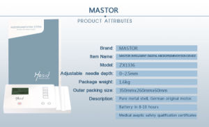 Mastor Digital Permanent Make up Machine pictures & photos