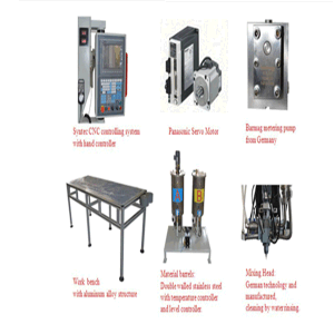 Pur Foaming Gasket Casting Machine pictures & photos