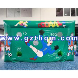 Kids N Adults Inflatable Football Goal Made of Best PVC Tarpaulin pictures & photos