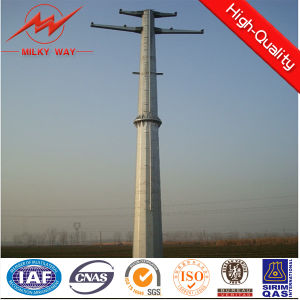 9m 200dan Electrical Power Transmission Steel Pole for 10kv-220kv Distribution pictures & photos