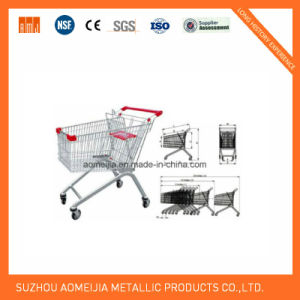 Ce &  ISO Approved Euro Supermarket Steel Shopping Trolly pictures & photos