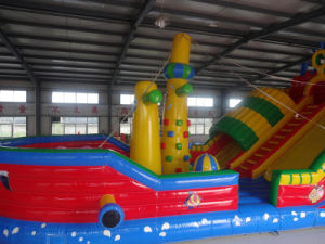 Hot Sale Inflatable Bouncy with Ce Blower (HL-101) pictures & photos