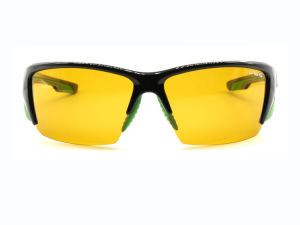 2017 Polarized Yellow Cycling Sports Sunglasses Mountain Bike Eyewear pictures & photos