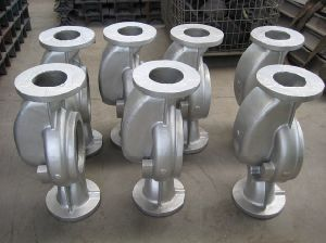 Impeller Guide Vane Casting Steel Casting Pump and Valve pictures & photos
