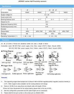 M10 Hall Proximity Switch Sensor NPN PNP Output pictures & photos