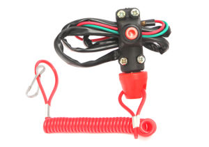 ATV Motorcycle Dirt Bike Tether Line Kill Switch pictures & photos