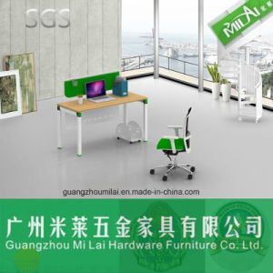 Modern Stainless Steel Foot Executive Desk with Painting pictures & photos