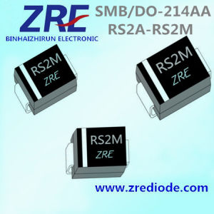 2A RS2a Thru RS2m Surface Mount Fast Recovery Rectifiers Diode SMB/Do-214AA pictures & photos