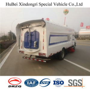 6cbm Dongfeng Euro 4 Vacuum Suction Road Sweeper Washing Truck pictures & photos