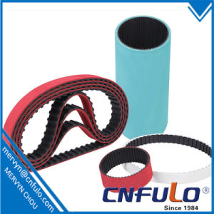 Coated Timing Belt, Red Rubber Timing Belt, 225L pictures & photos