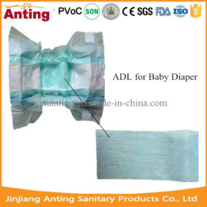 Breathable Nonwoven Colorful Adl for Diaper Raw Material pictures & photos
