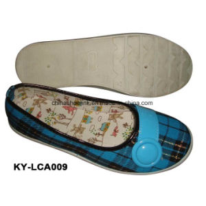 China Wholesale Lady Casual Shoes Canvas Upper Injection Sole pictures & photos