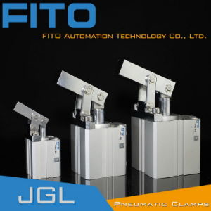 Jgl32 ISO Standard Rotating Clamp Pneumatic Cylinder/China Cylinder pictures & photos