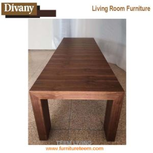 Modern Wood Folding Dining Room Table pictures & photos