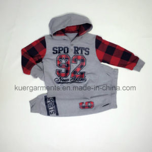 Kids Printed Clothes Boy Clothing for Spring/Autumn pictures & photos