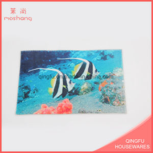 Coral Fleece Printed Home Anti-Slip Door Mat pictures & photos