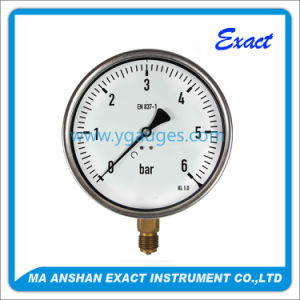 Commercial Pressure Gauge Dry Type, Stainless Steel Case pictures & photos