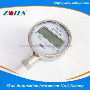 High Quality Digital Pressure Gauge with Accuracy 0.5% 0.2% 0.1% pictures & photos