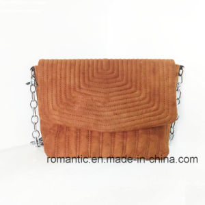 Wholesale Designer Lady Fake Suede Handbags with Chain (NMDK-050827) pictures & photos