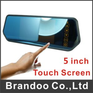 5 Inch Touch Screen Car Monitor Car Mirror View Mirror pictures & photos