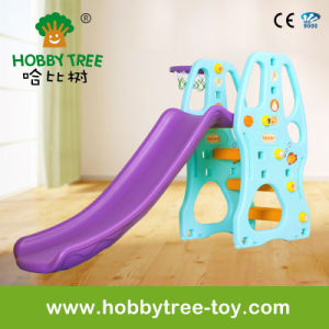 2017 Hot Selling Kids Indoor Plastic Slide (HBS17031C)