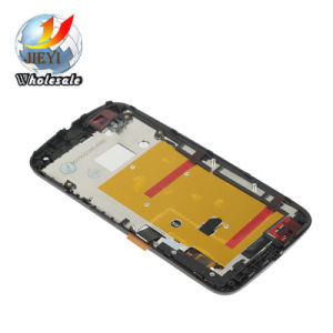 LCD Display Touch Screen Digitizer+ Frame Assembly for Motorola Moto G2 Xt1063 pictures & photos