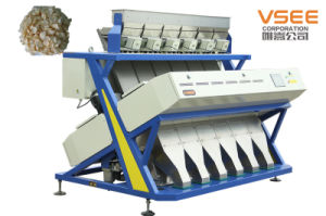 Vsee Color Sorter Machine for Dry Garlic Flakes pictures & photos