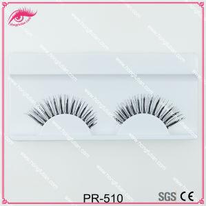 Popular False Eyelashes Human Hair Lash Wholesale pictures & photos
