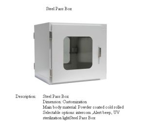 Electronic Pass Box for Cleanroom pictures & photos