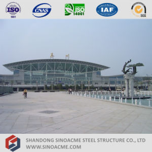 Steel Pipe Truss Structure Roof for Railway Station pictures & photos