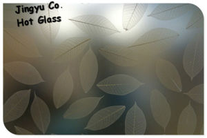 Novel Designed Acid Etched Glass for Screens and Partitions pictures & photos
