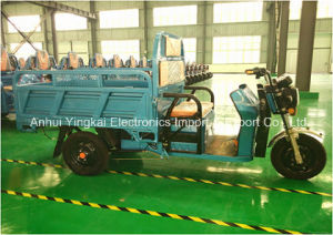Factory Hot Sale 2016 New Electric Tricycle for Cargo and Passenger (YK-ET-002)
