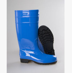 Industrial PVC Rubber Working Boots with Steel Toe Ce Certified pictures & photos