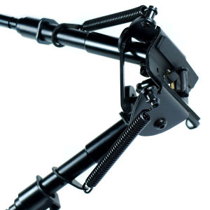 "Tactical 5 Level 6""-9"" Rifle Bipod Foregrip Mount for Picatinny Rail W/Adapter"