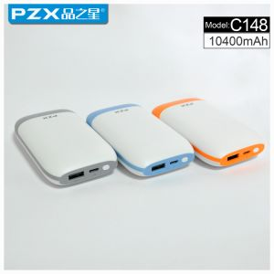 Model Pzx-C148factory Direct Sale 10400mAh Mobile Power Bank for Phone pictures & photos