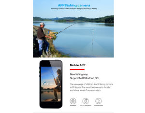 2017 New Fishing Equipment APP WiFi Fishing Camera for Visual Lucky Fish Finder, WiFi Video Box, Fishing Tools pictures & photos