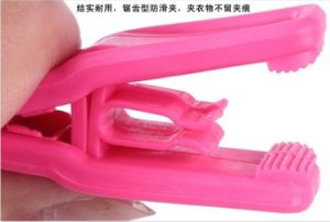 2015 Plastic Lovely Clothes Pants Hanger Colorful Fashion Clips
