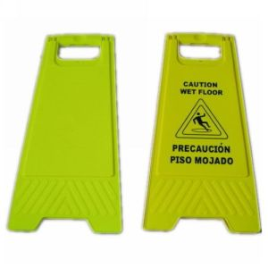 Plastic Safety a Shape Warning Board Caution Sign (JMC-402J) pictures & photos
