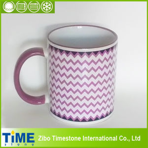 Purple Wave Design Blank Coffee Mugs (15032605) pictures & photos