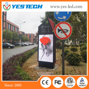 Yestech P4/P5mm Full Color LED Advertising Video Sign Board pictures & photos